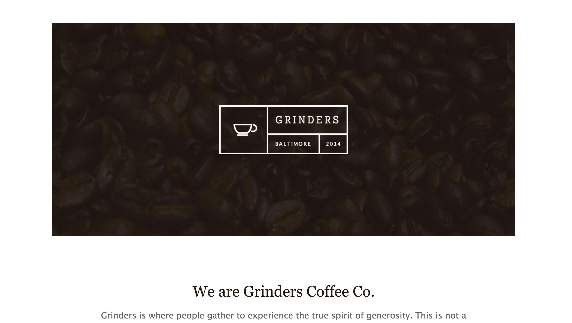 Grinders Coffee Co.